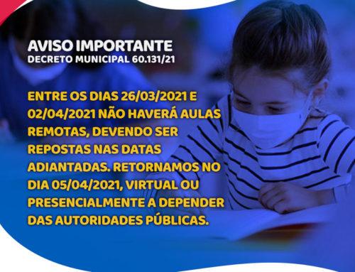 Decreto Municipal 60.131/21